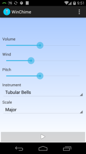 WinChime for Android screenshot